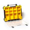 ארגונית פלסטיק 12 תאים נשלפים מקצועית ידית אלומיניום